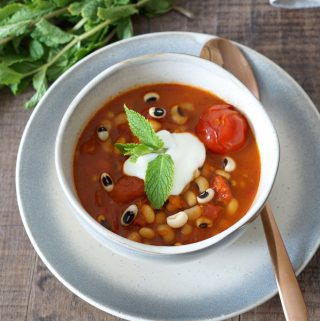 African black-eyed pea soup