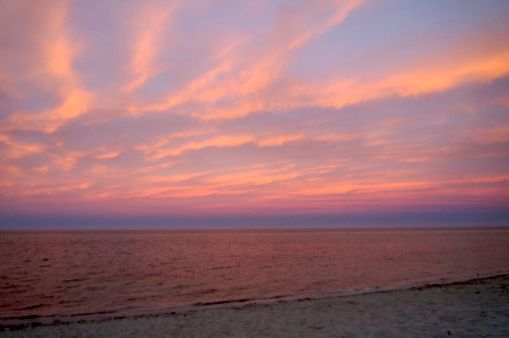 pink sky- Dunsborough Beach